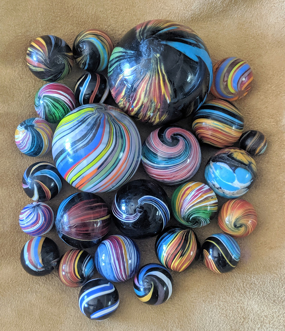 Group of Indian marbles