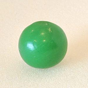 Apple green solid opaque mellon ball.