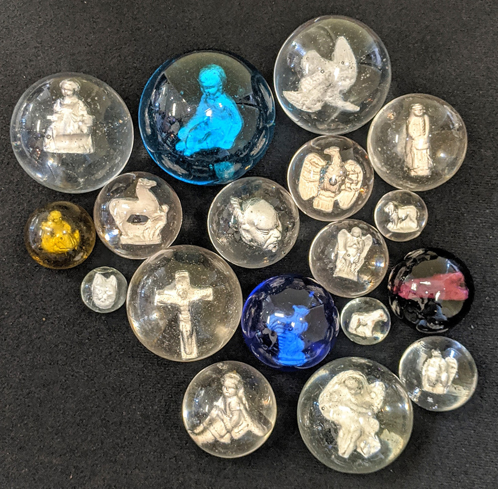 Group of Sulphide marbles