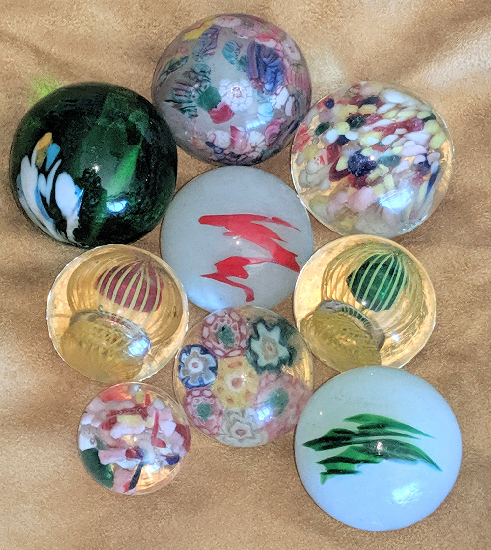 Group of Unusual marbles